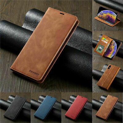 AU12.99 • Buy IPhone 12 Pro Max Mini 11 XS XR 7 8 Plus Magnetic Flip Wallet Leather Case Cover