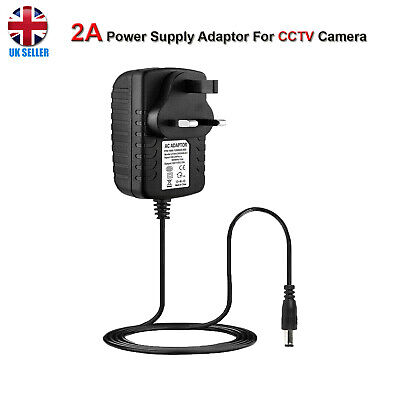 £1.67 • Buy 12V 1A 2A AC/DC UK Power Supply Adapter Safety Charger For LED Strip CCTV Camera
