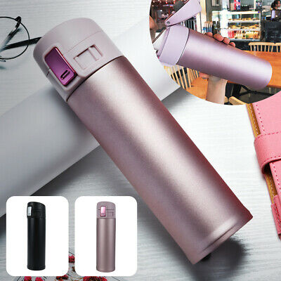 AU16.98 • Buy Vacuum Insulated Leakproof Stainless Steel Water Bottle Thermos Drink Cup Mug