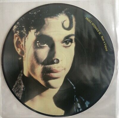 Prince Picture Disc Single - Limited Edition - Interview Vinyl. • 12.99£