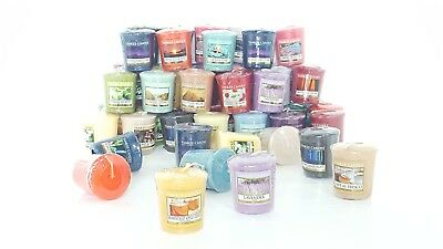 30 Official Yankee Candle Votive Samplers Assorted Fragrances Full Classic Range • 34.99£