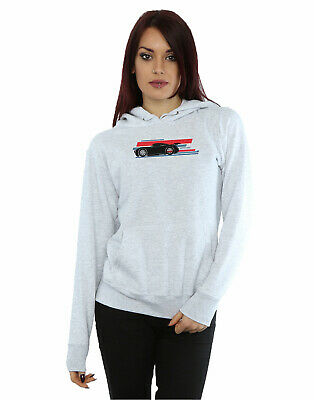 Disney Women's Cars Jackson Storm Stripes Hoodie • 31.99£