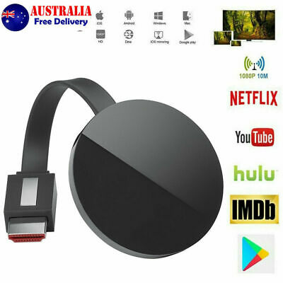 AU25.99 • Buy For Chromecast HD Screen Mirroring WiFi Display Dongle Media Streamer Player