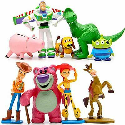 £9.98 • Buy Disney Toy Story Play Action Figure 9pcs Buzz Light Year Woody Party Cake Topper