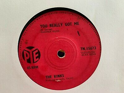 Kinks You Really Got Me / It's All Right 1964 Rock 7  Vinyl • 1.99£