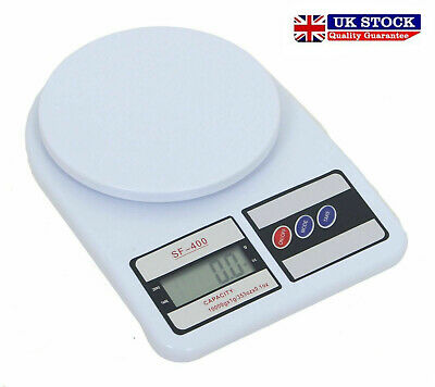 10kg Digital Electronic Kitchen Scale Post Office Mailing Parcel Weight Weighing • 6.99£