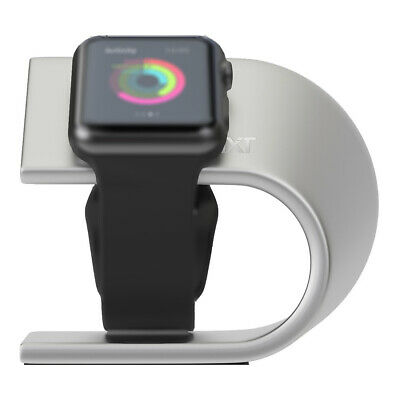 AU19.99 • Buy 3SIXT Helix Apple Watch Stand (Series 1/2/3/4/5/6) 3S-1188 - Silver