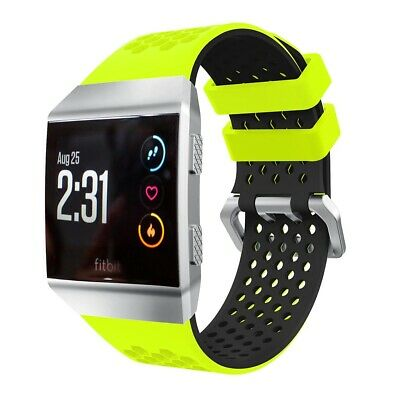 $ CDN13.03 • Buy For Fitbit Ionic Strap Silicone Sport Fitness Replacement Wrist Band Watch LARGE