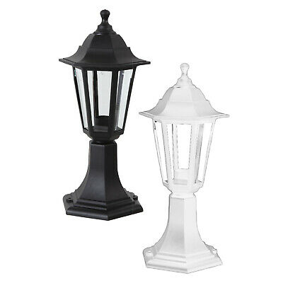 £14.99 • Buy Traditional Outdoor LED IP44 Patio Light Fitting Post Top Lantern Lamp Garden