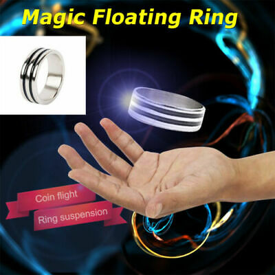 2pc Suspension Ring Magic Props Floating Ring Invisible Metal Stage Toys UK • 5.99£