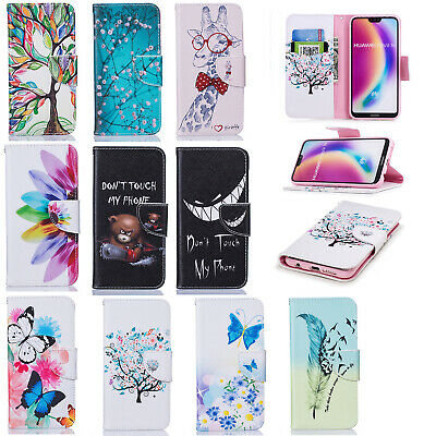 Cover Case For Huawei P40 P30 Lite P Smart Y5 Y6 Y7 Luxury Leather Flip Wallet • 4.99£