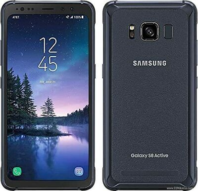 $ CDN150.53 • Buy Samsung Galaxy S8 Active SM-G892 - 64GB - Meteor Gray (GSM Unlocked) Please READ