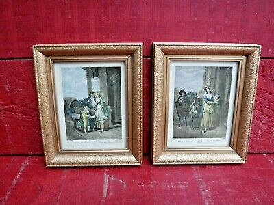 £9.99 • Buy 2 Small Vintage Framed Prints, Cries Of London