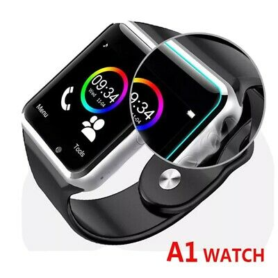 AU18.99 • Buy Bluetooth Smart Wrist Watch A1 GSM Phone Android Samsung IPhone Man Women AU