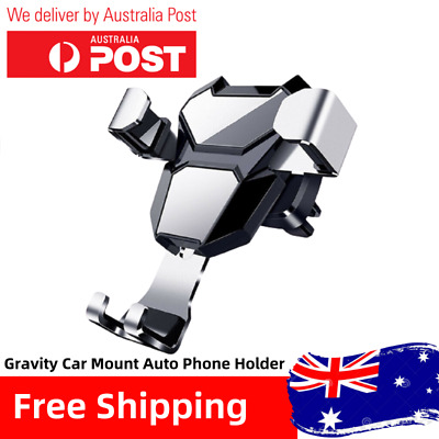 AU10.99 • Buy Universal Gravity Car Mount Auto Holder Air Vent & Dashboard For Mobile Phone