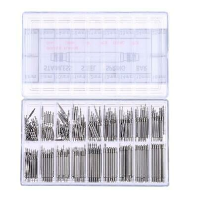 360X8-25mm Watch Band Spring Bars Strap Link Pins Fitting Remover Repair Tool UK • 3.72£
