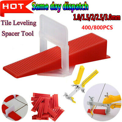 UK 400/800X Tile Leveling Spacer System Tool Clips Wedges Flooring Lippage Plier • 14.37£