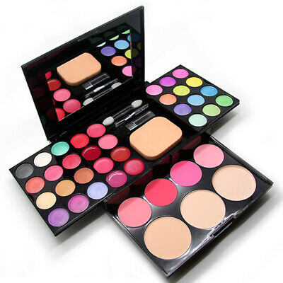 AU14.61 • Buy Pro 39 Color Eyeshadow Palette Blush Lip Gloss Makeup Beauty Cosmetic Set Kits