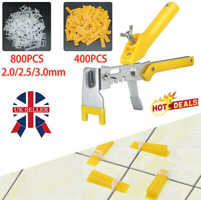 £8.29 • Buy UK 800 X Tile Leveling Spacer System Tool Clips Wedges Flooring Lippage Plier