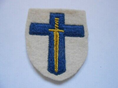 £14 • Buy 2nd Army Woven    Cloth Formation Sign Military Unit Patch