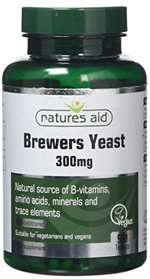 Natures Aid Brewers Yeast, 300 Mg, 500 Tablets Natural Source Of B-Vitamins, And • 5.85£