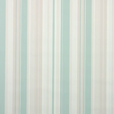 £25.36 • Buy 1950s Stripe Vintage Wallpaper Mint Green Gray And Cream Stripes