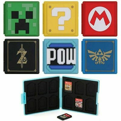 AU14.99 • Buy For Nintendo Switch Game Card Case Holder Storage Box Travel Carry Protect Cover