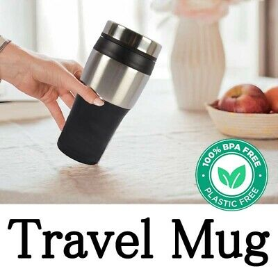 AU15.89 • Buy Thermos Water Travel Mug Vacuum Flask Hot Cold Drinks Insulated Coffee Cup 500ml