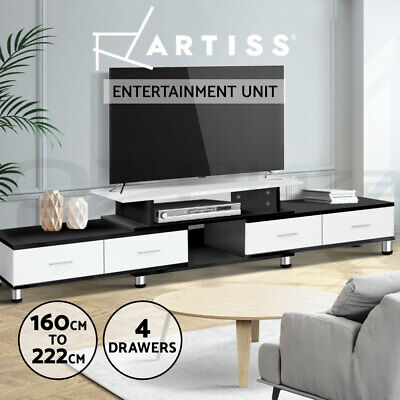 AU159.95 • Buy Artiss TV Cabinet Entertainment Unit Stand Wooden 160CM To 220CM Storage White