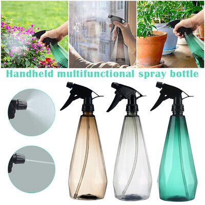 AU12.87 • Buy Plant Mister Plastic Spray Bottle With Adjustable Nozzle Pressure Watering Can