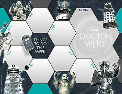 £5.49 • Buy Doctor Who Desk Pad Official Calendar - Non Dated Weekly Planne... By Doctor Who