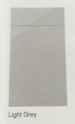 Light Grey Budget Gloss Replacement Kitchen Slab Doors Uk Made 2 Measure Cheap • 10£