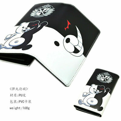 Anime Danganronpa Monokuma Long Button Wallet Purse Coin Bag Cosplay • 10.61£