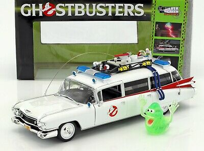 1959 Cadillac Ambulance Ecto-1 From  Ghostbusters 1  Movie 1/18 Diecast Model... • 141.79£