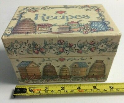 Recipe Box1997 Sweet As Honey Art By Susan Winget Excellent And Collectable VGC • 10£