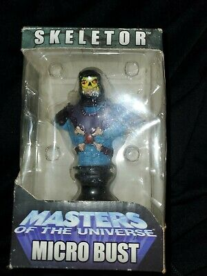 $30 • Buy 2004 NECA Masters Of The Universe Skeletor Micro Bust W/ Box READ!!!