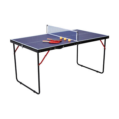 AU85.49 • Buy Sale Portable Table Tennis Play Post Ping Pong Net Ball Fold Set Indoor Outdoor