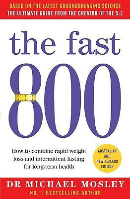 AU23.91 • Buy The Fast 800 Michael Mosley Paperback Book Australian New Zealand NEW