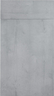 Concrete Woodgrain Replacement Kitchen Slab Doors Uk Made 2 Measure Cheap • 9£