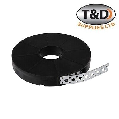 £12.80 • Buy TIMco HEAVY DUTY FIXING STRAPPING BUILDER'S BAND GALVANISED