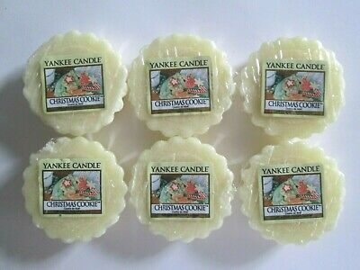 6 CHRISTMAS COOKIE Yankee Candle Wax Melt Tarts. • 9.99£