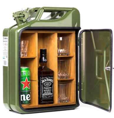 Jerry Can Mini Bar, Luxusary One Off Gift, Picnic, Camping, Stag, Man Cave!! • 82£