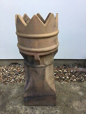 Reclaimed Victorian Crown Clay Chimney Pot  |  Warwick Reclamation • 150£