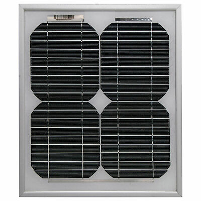 AU24.95 • Buy Powertran 5W 12V Monocrystalline Solar Panel