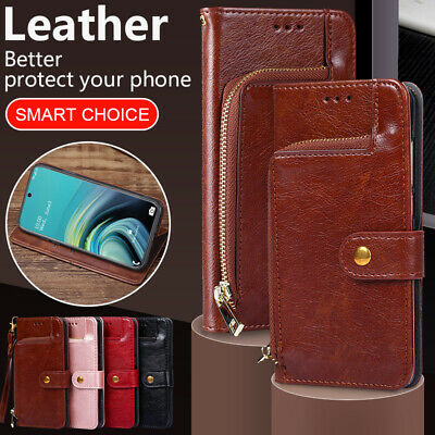 $ CDN10.37 • Buy Zipper Wallet Case Leather Cover For Samsung Galaxy Note20 Ultra Note10 Lite