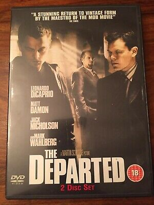 The Departed (DVD, 2007, 2-Disc Set) • 2.49£
