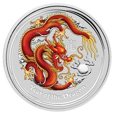 AU2524.25 • Buy 1 Kg 2012 Australian Lunar Year Of The Dragon Gemstone Edition Silver Proof Coin