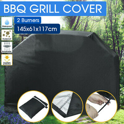 AU15.99 • Buy BBQ Cover 2 Burner Waterproof Outdoor Gas Charcoal Barbecue Grill Protector
