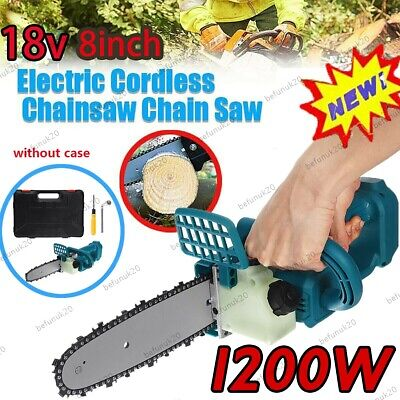 8  18V Brushless Cordless Electric Chainsaw Cutting Tool For Makita Battery BU • 53.85£