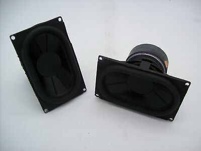 $ CDN31.55 • Buy Lot Of 2 Artison 3  X 5.75  Home Studio Audio Midrange Woofer 8 Ohm